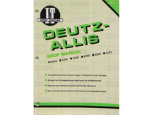 I&T Shop Manual for Deutz-Allis 6240 6250 6260 6265 6275 Tractor
