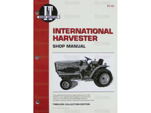 I&T Shop Manual for IH International 234 244 254 Compact Tractor