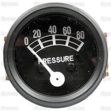 Ford '53-64 Tractor 80 psi Oil Pressure Gauge