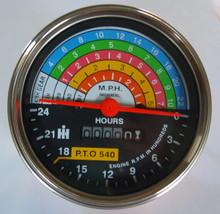 IH International 560 660 Tractor Tractormeter  - front