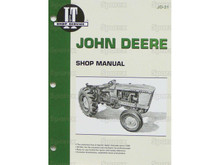 I&T Shop Manual for John  Deere 1010 2010 tractor