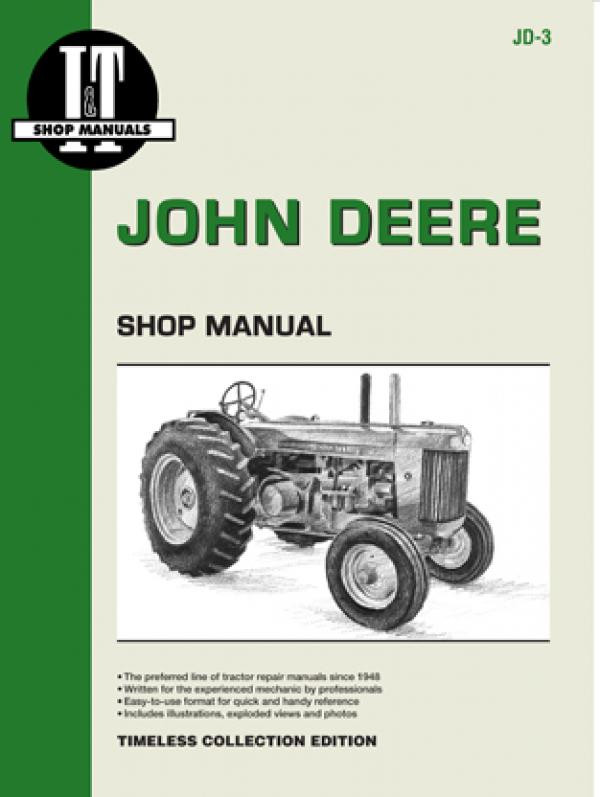 I U0026t Shop Service Manual John Deere Jd Model R Diesel Tractor