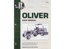 I&T Shop Manual for Oliver 2050 2150  tractor