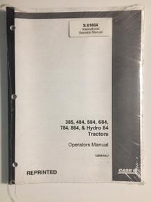 CaseIH 84 Series Tractor Operators Manual