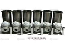 IH C263 engine piston/liner kit