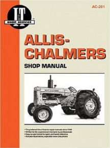 I&T Allis Chalmers Tractor Shop/Service/Repair Manual AC201
