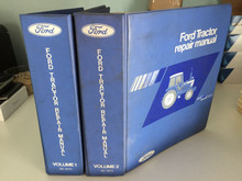 Factory/OEM Shop Service Manual Ford Series 10 Tractor