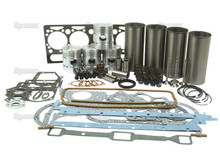 Perkins A4.203 (late) Diesel Engine Overhaul Kit w/ Valve Train