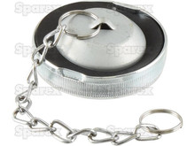 Oil Filler Cap w/ Chain for many Perkins Engines in MF Tractors