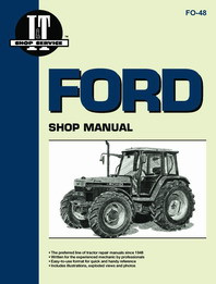 Ford 5640 6640 7740 7840 8240 8340 Tractor Shop Service Manual -  I&T FO48