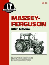 Massey-Ferguson 362, 365, 375, 383, 390, 390T, 398 Tractor - I&T Shop Manual MF-45
