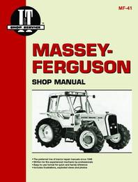 I&T Shop Manual MF-41 for Massey-Ferguson 670 690 698 Tractor