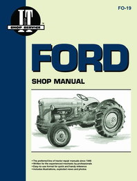 Ford NAA Golden Jubilee Tractor - I&T Shop Manual FO-19