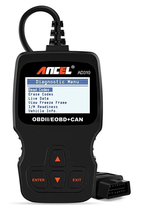 OBD II Scanner Car Engine Fault Code Reader And CAN Bus Diagnostic