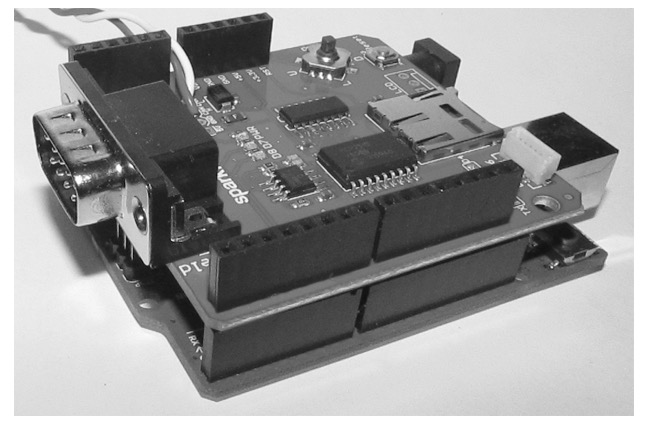 Arduino CAN Bus Shield by SK Pang electronics