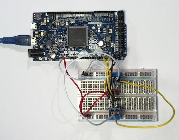 Arduino Due with 2 CAN Bus breakout boards