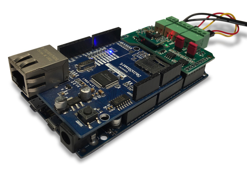 Copperhill Technologies - Arduino Due With Dual CAN Bus Port And Ethernet Shield