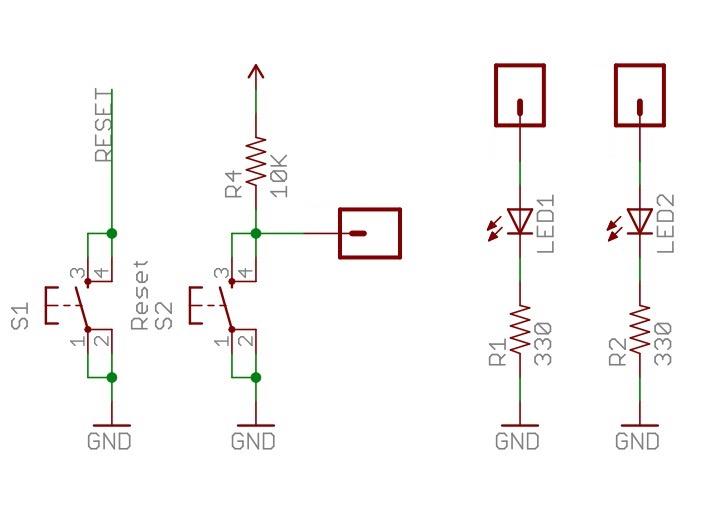Arduino Protoshield Kit - Schematic