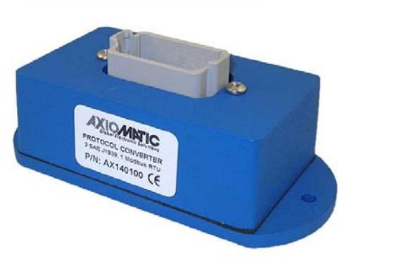 Axiomatic AX140x00 Protocol Converter SAE J1939 SAE J1587 Modbus RTU