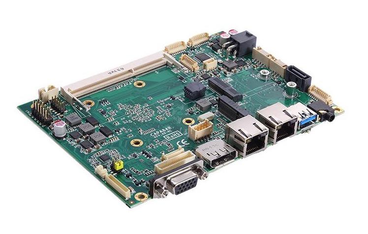 "Axiomtek CAPA84R 3.5"" Embedded SBC with Intel Celeron Processor"