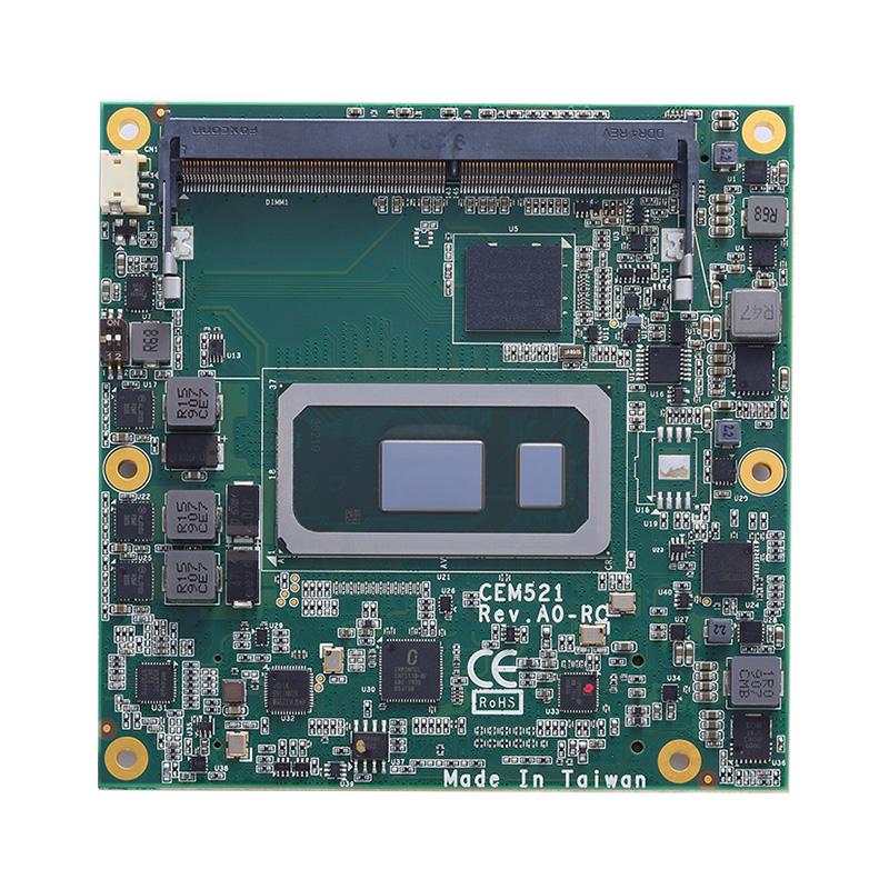 Axiomtek CEM521 COM Express Type 6 Module Powered By Intel Core i7/i5/i3 Or Intel Celeron Processor 4305UE