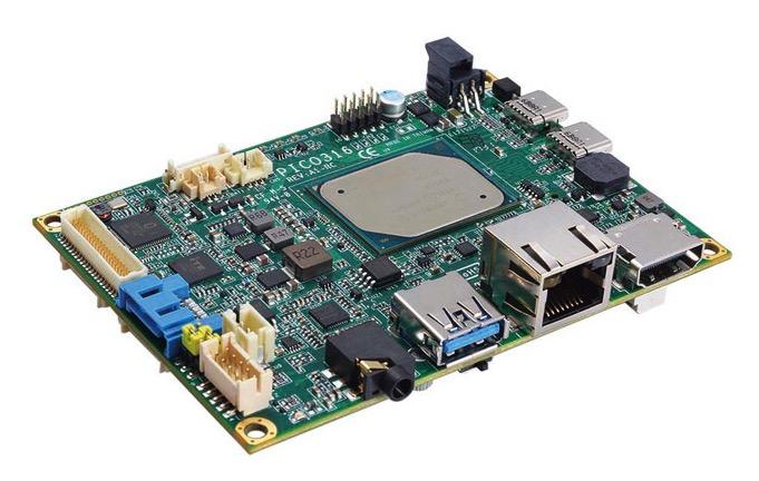Axiomtek PICVO317 - Pico-ITX SBC with Intel® Atom® x5-E3940 Processor, HDMI, LVDS, GbE LAN and Audio