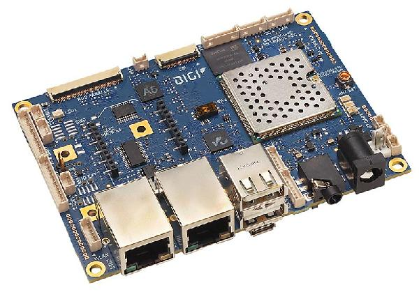 ConnectCore 6UL SBC Pro - Powerful, secure, pre-certified connected Single Board Computer in standard form factor with complete design flexibility