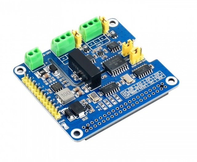 Dual Isolated CAN FD Interface Board For Embedded Systems