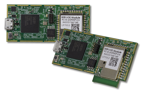 High Performance, Wi-Fi Enabled Module For IoT Development