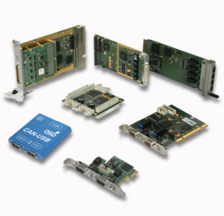 esd electronics - CAN Interfaces for PC and industrial Computers