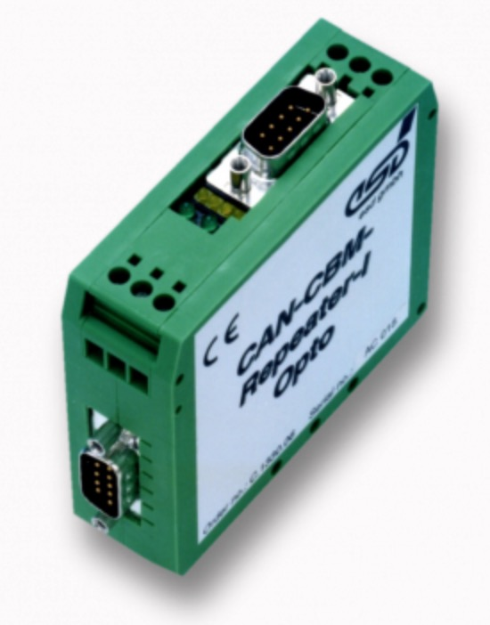 esd electronics Passive I/Y CAN Bus Repeaters Improve CAN Bus Network Conditions