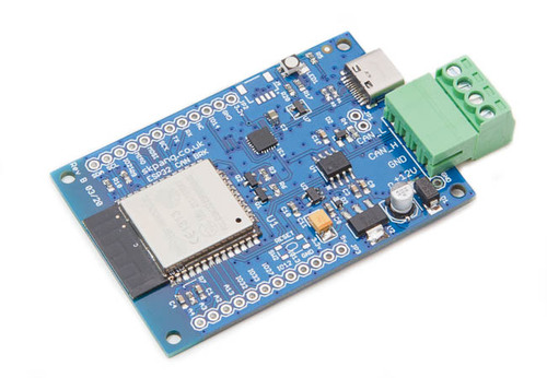 ESP32 WiFi, Bluetooth Classic, BLE, CAN Bus Module