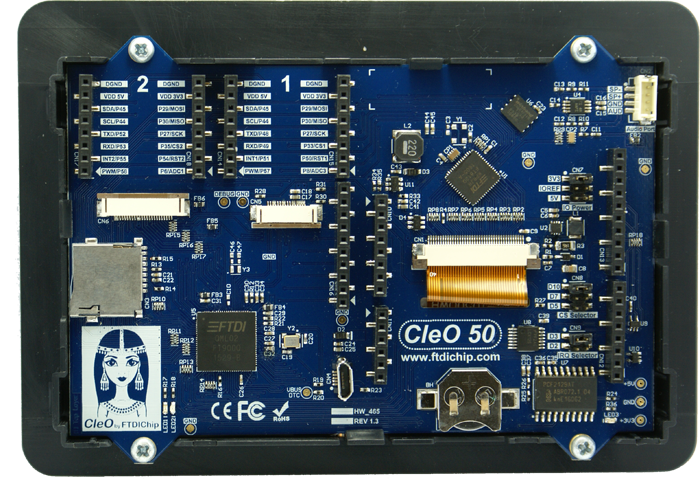 Arduino TFT Display Shield Includes CAN Bus Interface, Real