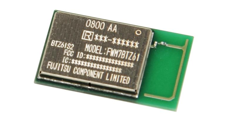 Fujitsu FWM7BTZ61 series of Bluetooth Ver. 5.0 - dual mode - wireless radio modules