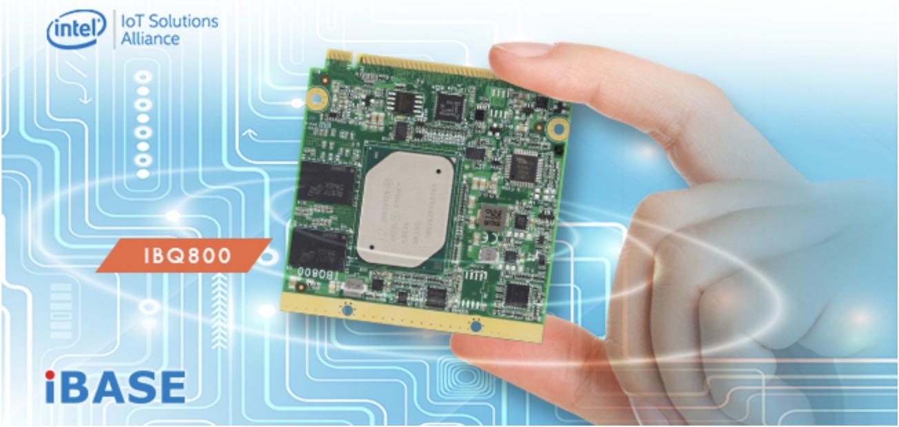 iBASE IBQ800 Intel Atom Processor E3930 E3950 Qseven CPU Module