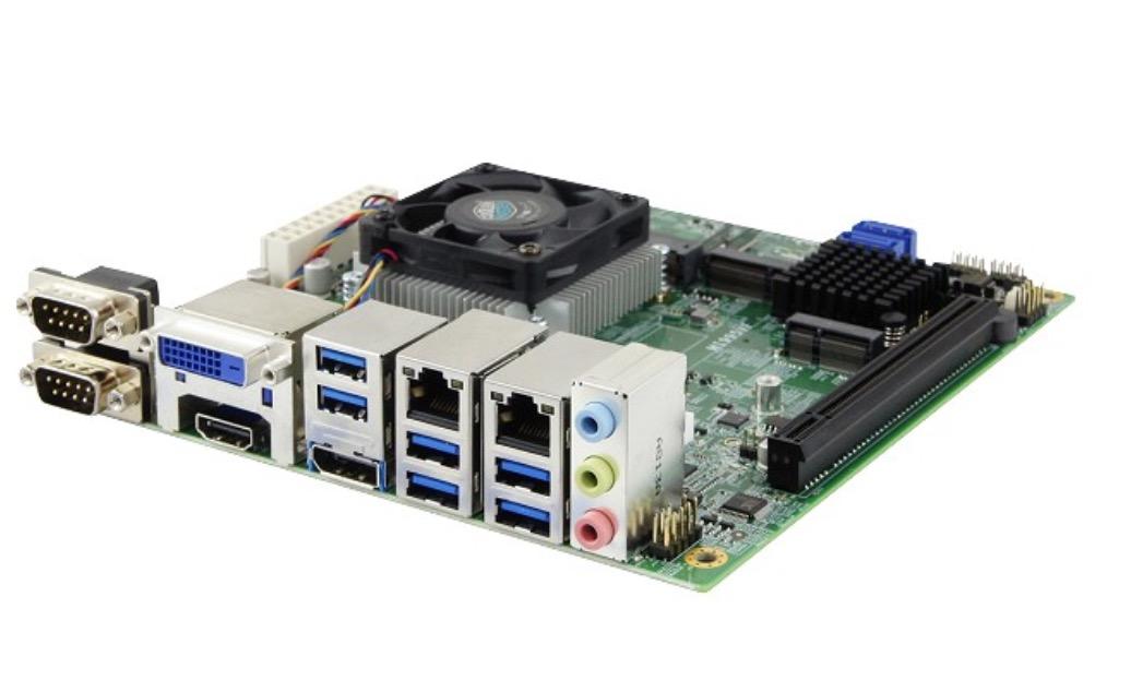 iBASE MI995 8th Gen Intel Xeon E Core i7-i5-i3 Mini-ITX Motherboard with Intel CM246 PCH