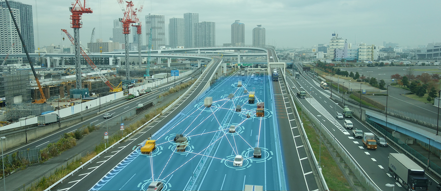 iot smart automotive driverles