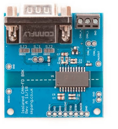 Isolated CAN FD Breakout Board