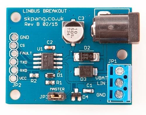 LIN Bus Breakout Board