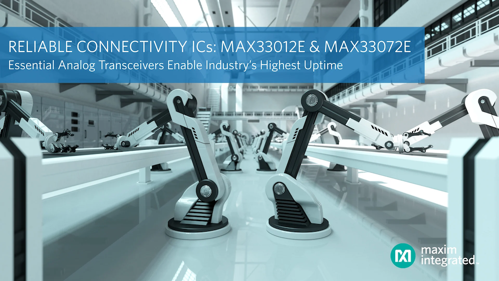 Maxim MAX33012E CAN Bus Transceiver With Fault Protection, Fault Detection And Reporting