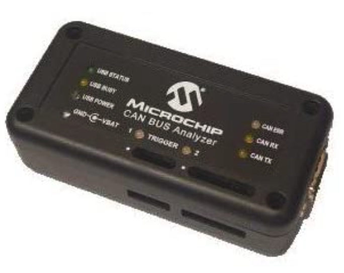 MICROCHIP APGDT002 CAN BUS ANALYZER TOOL, CAN 2.0B, ISO11898-2