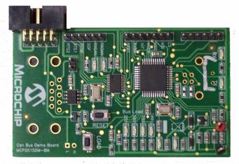 Microchip MCP2515 CAN Bus Monitor Demo Board
