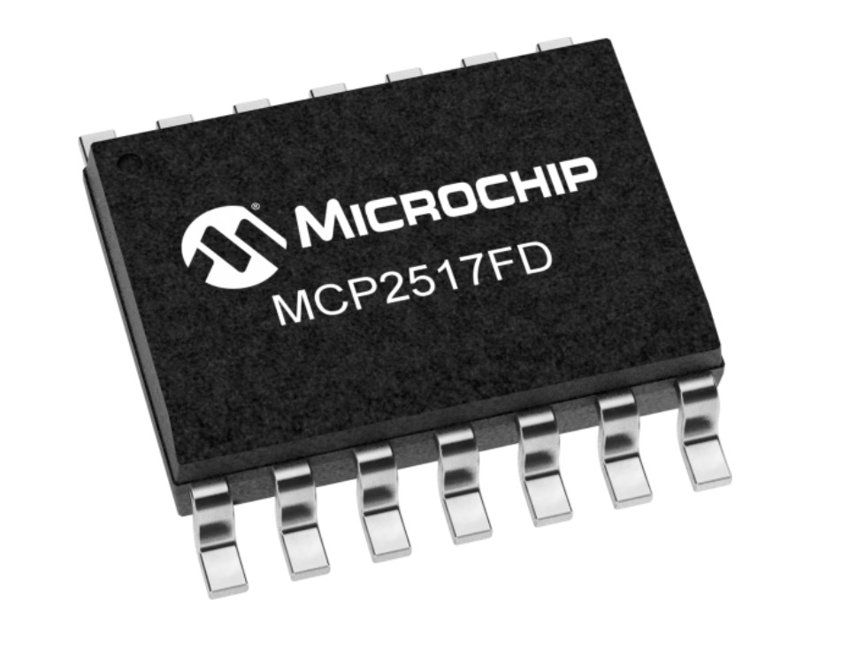 Microchip MCP2517 FD External CAN FD Controller With SPI Interface
