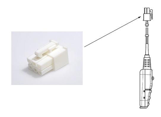 molex - Mini-Fit Jr. Receptacle Housing, Dual Row, 6 Circuits, UL 94V-0, Natural