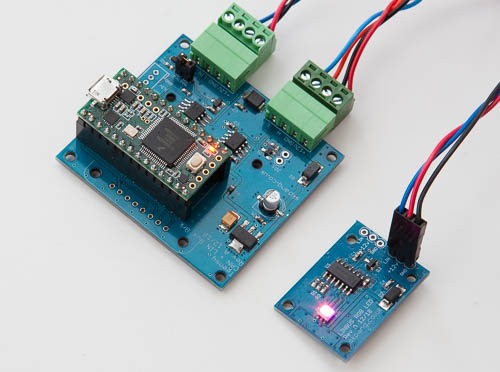 NCV7430 LIN-Bus breakout board in combination with the Teensy 3.2 LIN Bus master