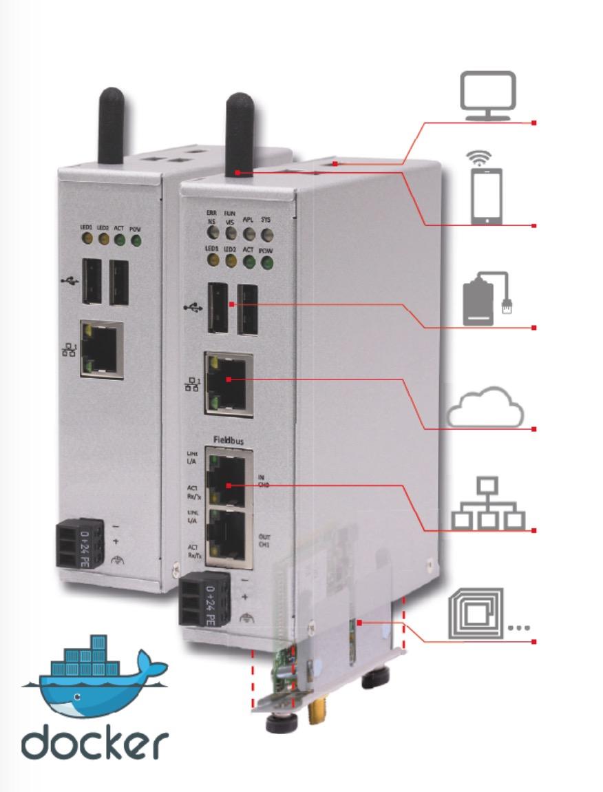 netPI Open IIoT Connectivity Edge Gateway