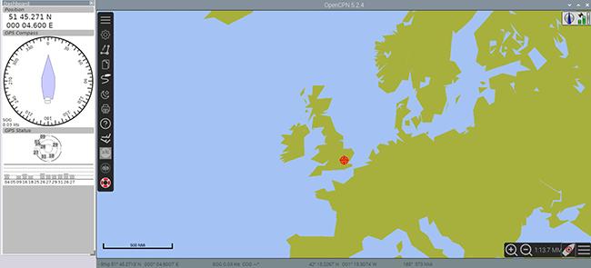 OpenCPN Chart Plotter Navigation