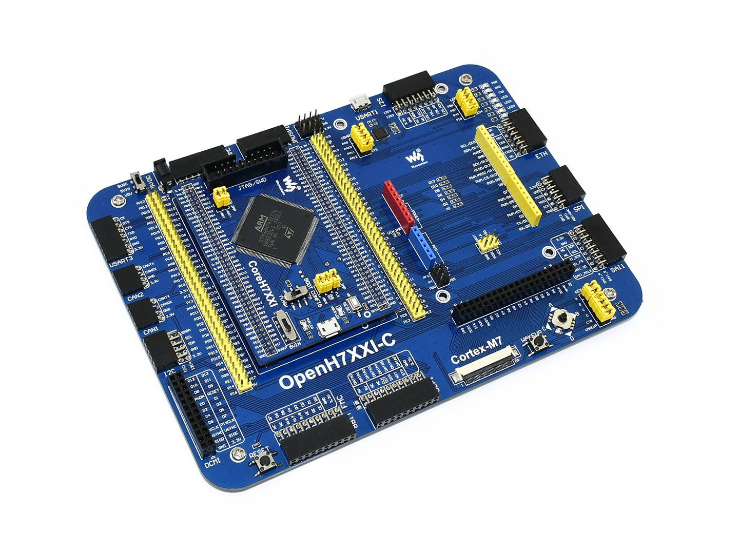 STM32H7 Development Board With Multiple Expansion Options