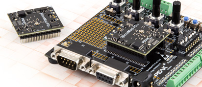 PCAN-MicroMod FD Evaluation Board - Universal Evaluation Board for the Plug-in Module PCAN-MicroMod FD