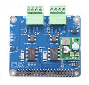 PiCAN2 Duo CAN Bus Board For Raspberry Pi 4 With 3A SMPS